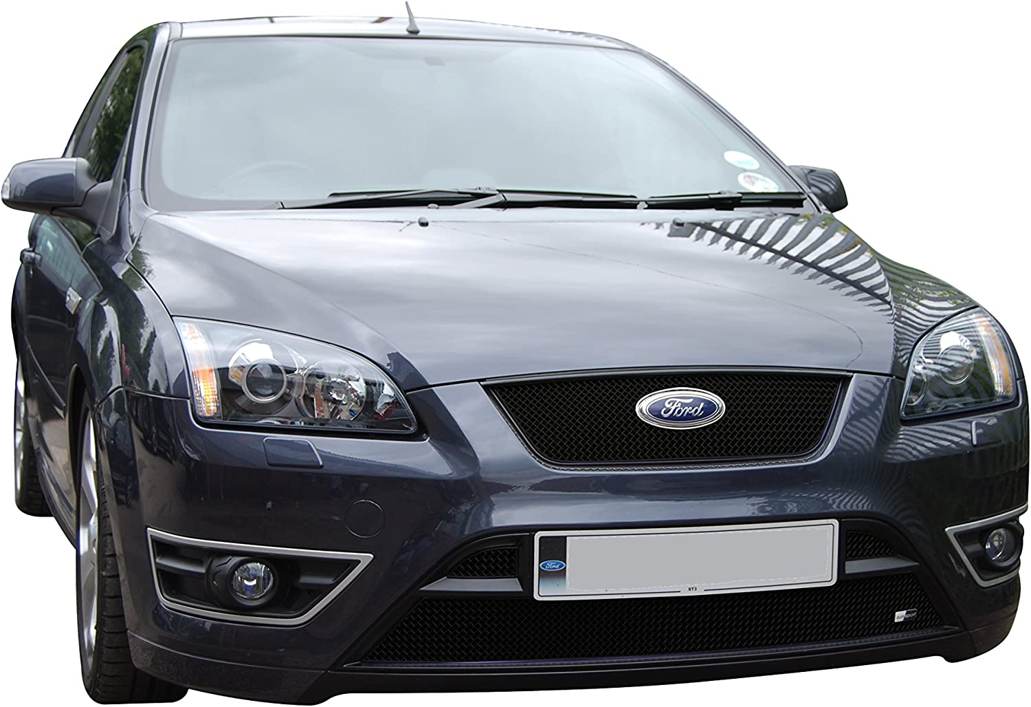 Zunsport Ford Focus ST 05-07 Front Upper Stainless Steel Grille