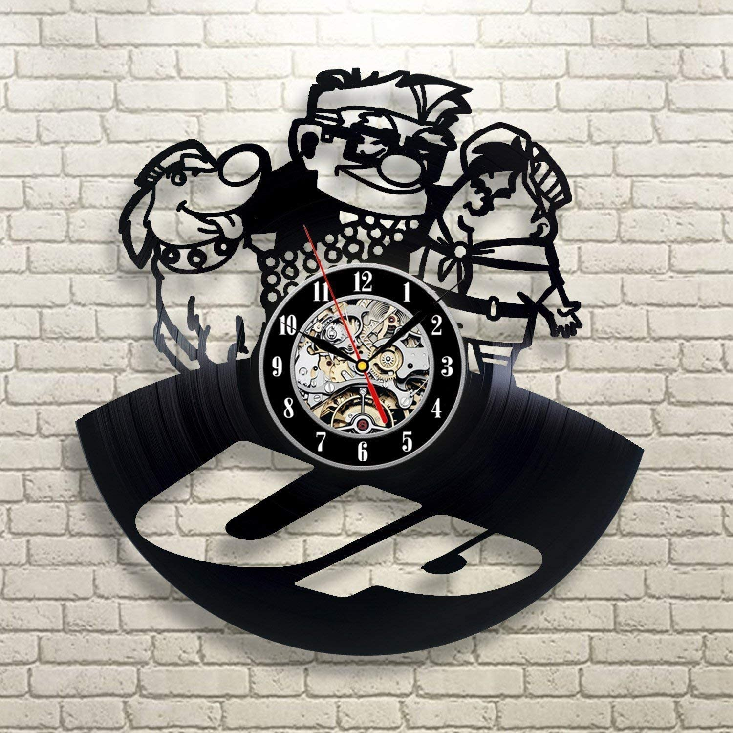 A picture of the UP clock