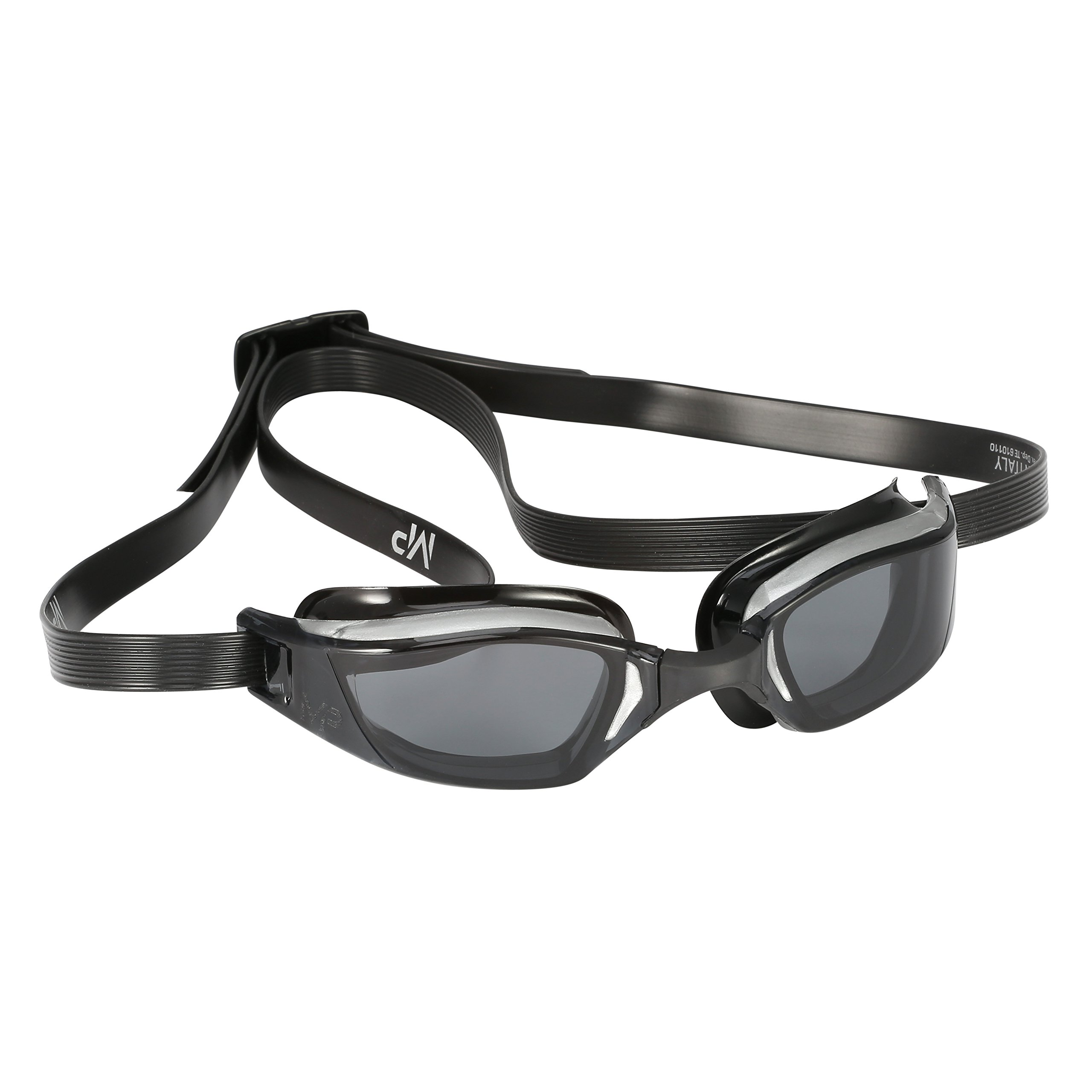 MP Michael Phelps XCEED Swimming Goggles, Smoke Lens, Grey/Black Frame