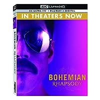 Bohemian Rhapsody (4K UHD + Blu-ray + Digital)