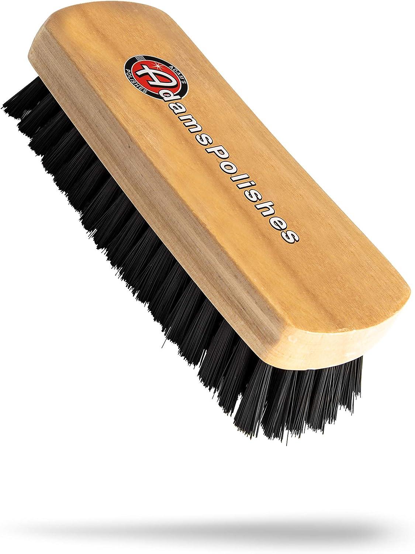 Soft Bristle white Scrub Brush  Carpet Mat 5 drill brush W// FREE MICROFIBERTOWEL