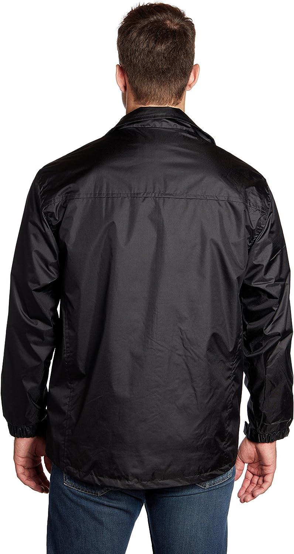 Equipment De Sport USA Mens Black Windbreaker Jacket