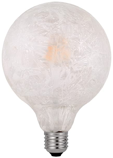 Garza Lighting - Bombilla LED Vintage Ice, potencia 4.5W, casquillo E27, luz