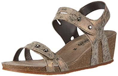 Mephisto Women's Minoa Print 17631 Camel Open Toe Sandals Size: 5 UK Cheap Sale Outlet Locations RWrupOSoz