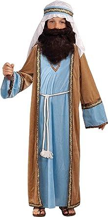 Garçons Âge 4-12 ans Joseph Shepherd Noël Nativité Costume Déguisement