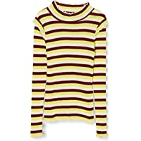 Scotch & Soda Fitted Long Sleeve tee In Yarn Dyed Stripes Camisa para Niñas