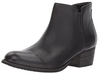 CLARKS Women's Maypearl Ramie Ankle Bootie, Black Leather, ...