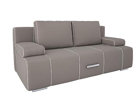 Marvelous OTTO Schlafsofa Sofa Mit Schlaffunktion Und Bettkasten (Mysty Grey, Stoff) Design