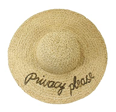 6cadf0f662e Image Unavailable. Image not available for. Colour  Hat Attack Privacy  Please What s Your Motto Sunhat