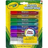 Crayola 9 Washable Glitter Glues