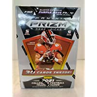 $33 » 2021 Panini Prizm Draft Football BLASTER box (6 pks/bx)