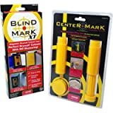 Calculated Industries 8125 Value Pack - Blind Mark and Center Mark Drywall Install Tools   For Electrical Outlet Box and…