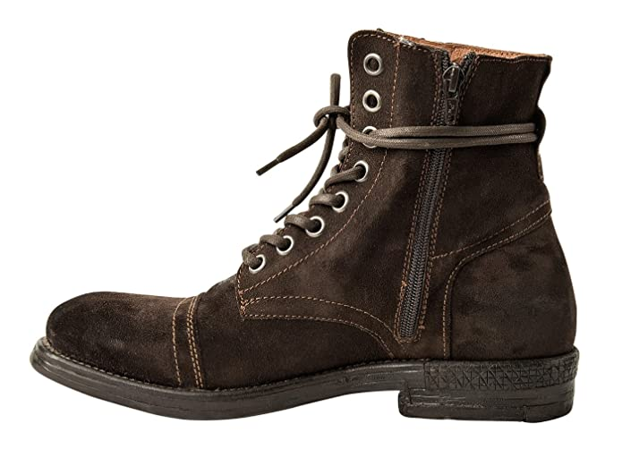 Replay Mens Leather Shoes, Men Donald Botines, Botas, Talla 41-45: Colour: Brown | Size: 10.5 UK: Amazon.es: Zapatos y complementos