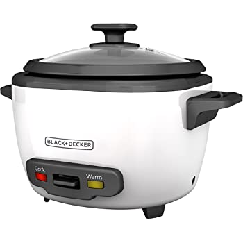 Amazon Blackdecker 16 Cup Cooked8 Cup Uncooked Rice Cooker