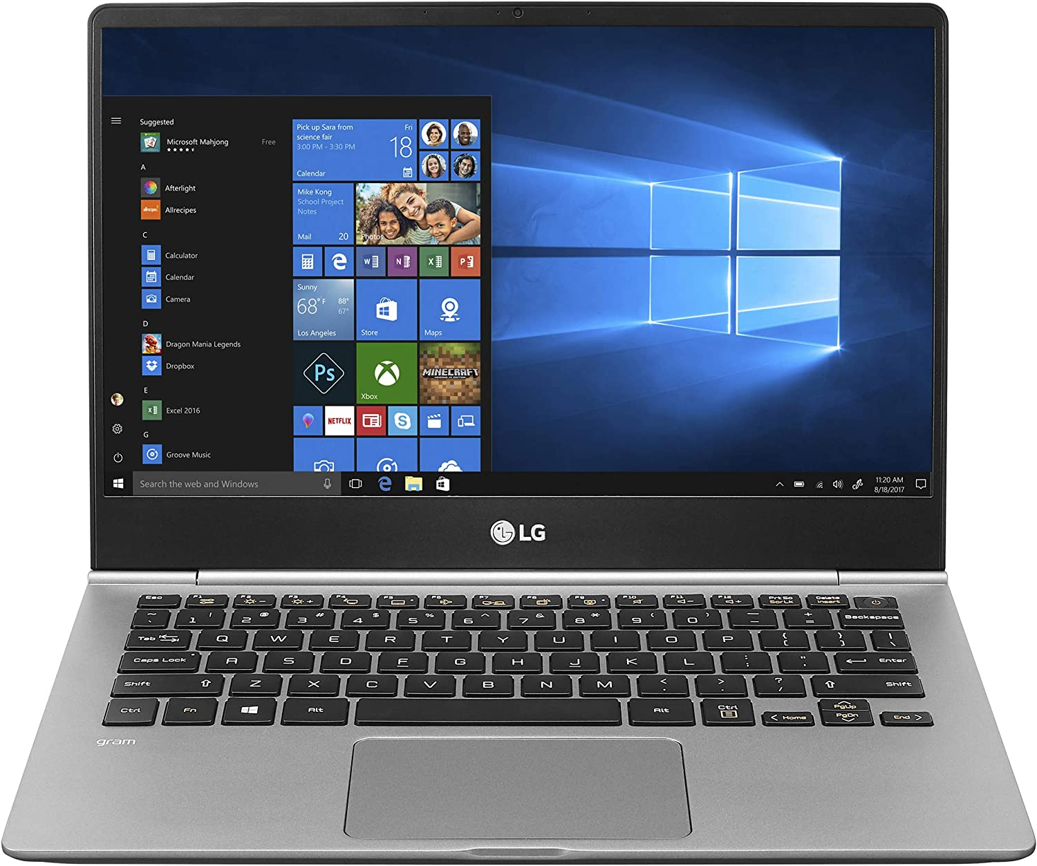"LG Gram Laptop 13.3"" - best all day battery life laptop"
