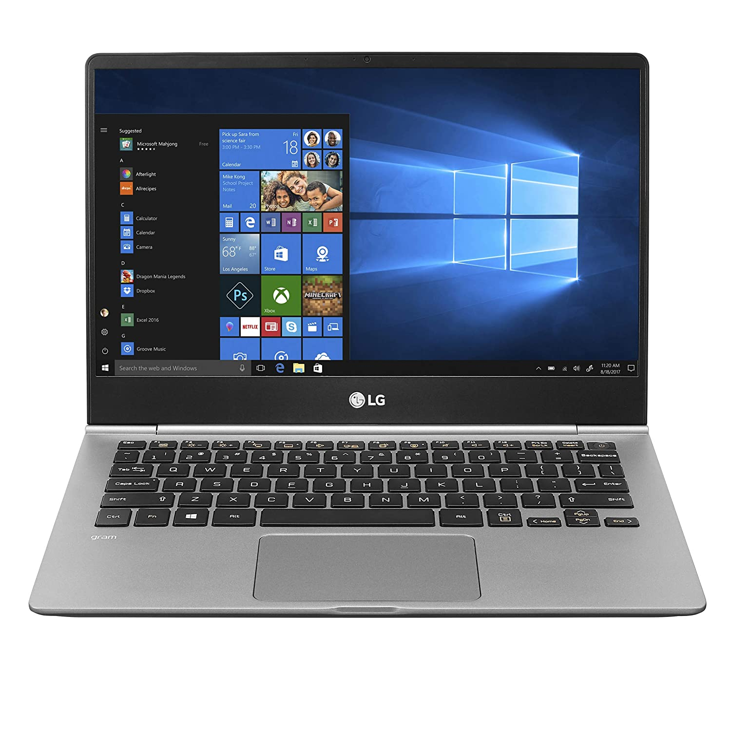 "LG Gram Laptop - 13.3"" Full HD Touchscreen, Intel 8th Gen Core i5, 8GB RAM, 256GB SSD, 20.5Hour Battery, 13Z990-A.AAS5U1 (2019)"