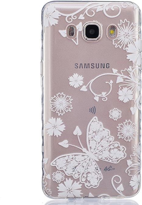 Felfy Samsung Galaxy J5 2016 Custodia,Slim Morbido TPU Trasparente Case
