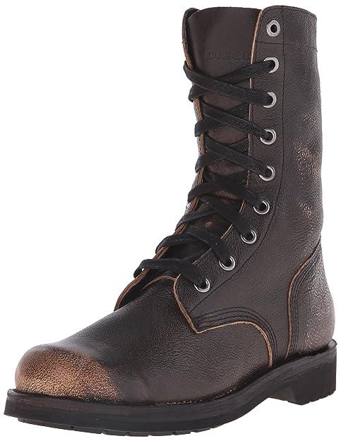 Diesel D-Komtop, Botines para Hombre, Marrón, 41 EU: Amazon.es: Zapatos y complementos