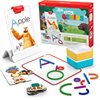 Osmo - Little Genius Starter Kit for iPad - 4 Hands-On Learning Games - Ages 3-5 - Problem Solving, Phonics & Creativity…
