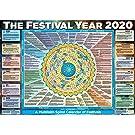 2020 The Festival Year Multi Faith Wall Planner/Calendar/Organiser (A1)