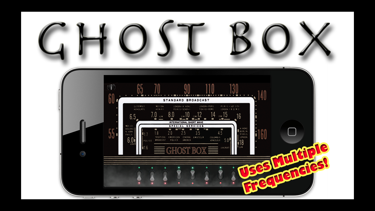 Real ghost box appstore for android for Spirit box app android