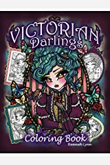 Victorian Darlings Coloring Book Paperback
