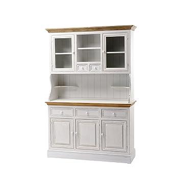 Küchenschrank weiß  Holzschrank Küchenschrank Landhausstil weiß Schrank Neu Pajoma ...