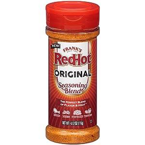 Frank's RedHot Seasoning Blend Original, 4.12 oz