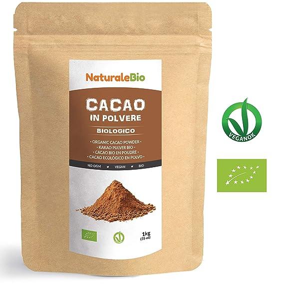 Cacao crudo Ecológico en Polvo 1kg. Organic Raw Cacao Powder. 100 ...