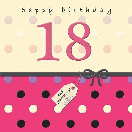 Twizler - Tarjeta de felicitación de 18 cumpleaños para ella ...