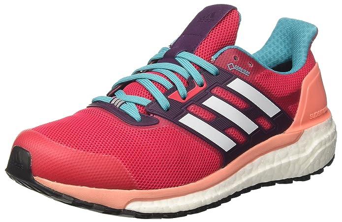 adidas Supernova GTX W, Chaussures de Running Femme, Multicolore (Energy rose/FTWR blanc/Sun Glow), 42 EU