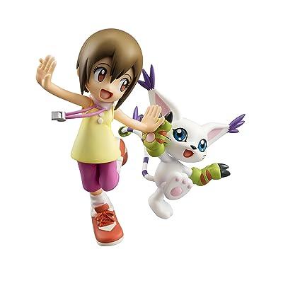 Megahouse Digimon Adventure: Yagami Hikari & Tailmon G.E.M. PVC Figure: Toys & Games
