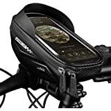 WHEEL UP Bike Phone Mount Bags Waterproof Front Frame Top Tube Handlebar Bags with Touch Screen Phone Holder Case Sports Bicy