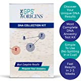 Canadian GPS Origins Complete DNA Ancestry Test Kit – Pinpoint More Precisely Where Your DNA Began for Your Maternal & Paternal Lineage & Get DNA Migration Routes + A Vibrant Picture of Your Ancestors