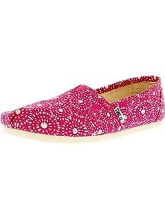 1255f96e419b71 TOMS Women s Classic Slip-On Flat Shoes  Toms  Amazon.co.uk  Shoes ...