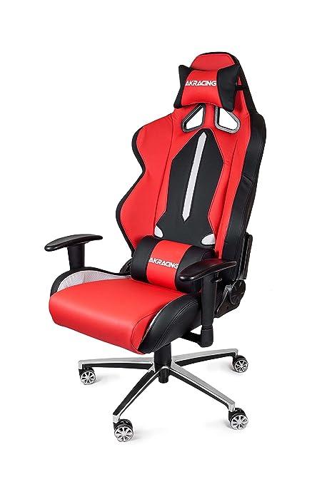Sedia Gaming Akracing.Akracing Ak 6013 Br Ak Racing Style Gaming Chair Red