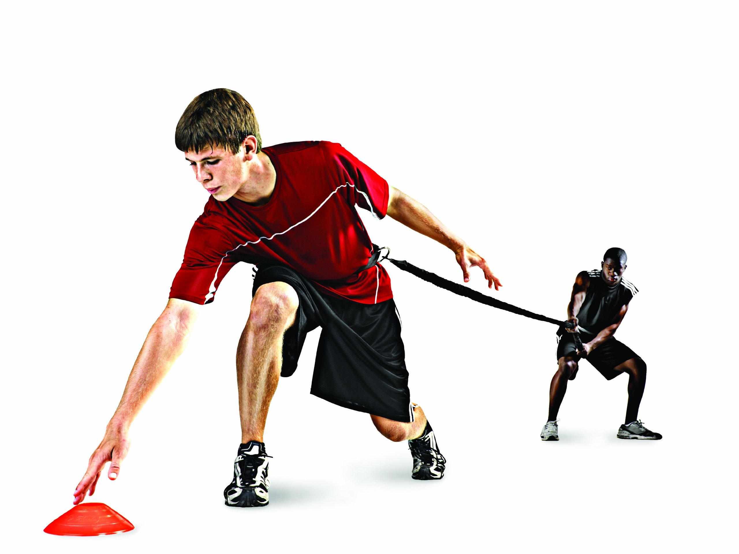 SKLZ Recoil 360, Dynamic Resistance and Assistance Trainer. Multi-Sport, Solo or Partner Belt with Bungee