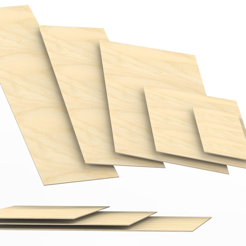 60x70 cm 3mm Sperrholz-Platten Zuschnitt L/änge bis 150cm Birke Multiplex-Platten Zuschnitte Auswahl