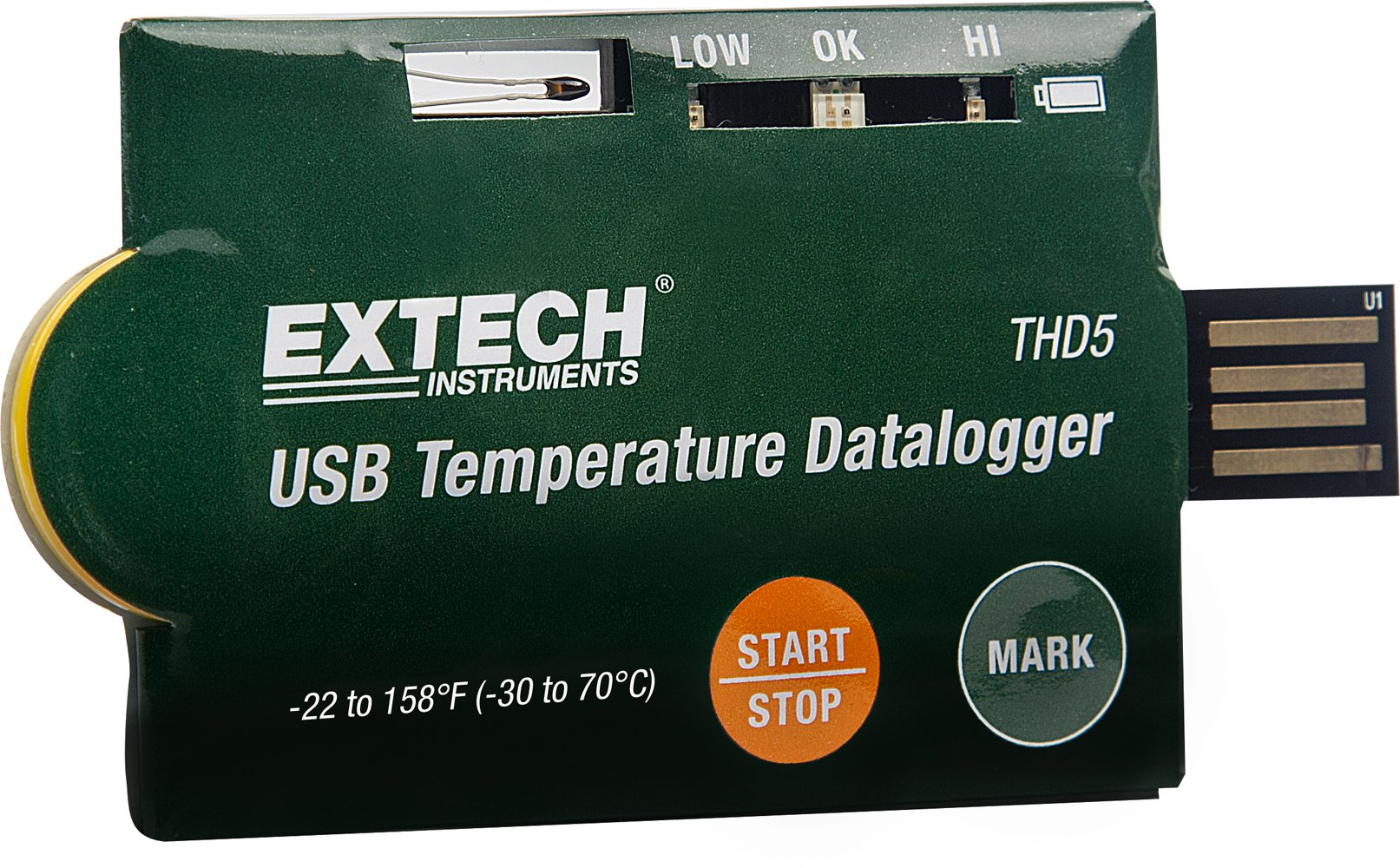 Extech THD5 USB Temperature Dataloggers (Pack of 10)