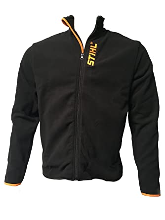 Stihl Fleecejacke schwarz mit Stihl Logo Gr. XL 60