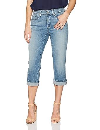 6650ee37003e0c NYDJ Women's Marilyn Crop Cuff Jeans at Amazon Women's Jeans store