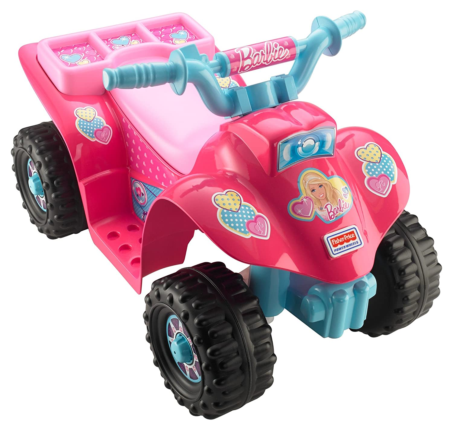 Amazon Power Wheels Barbie Lil Quad Toys & Games