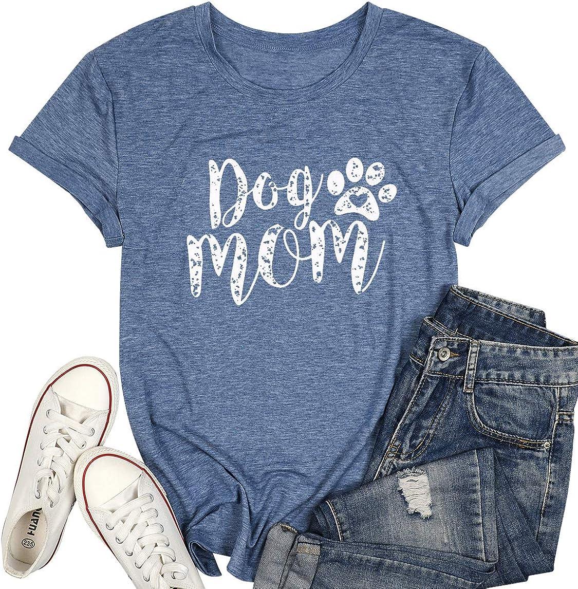 funny graphic tee dog mom tshirt coffee shirt Fur Mom shirt t shirt for women