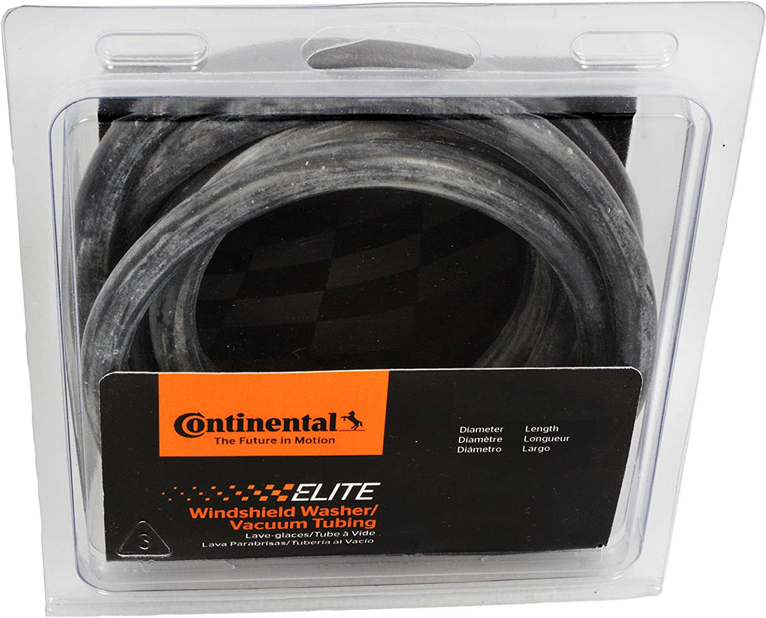 Continental Elite 65099 5//16 ID Windshield Wiper//Radiator Overflow Tubing 50 psi 2.5 Length