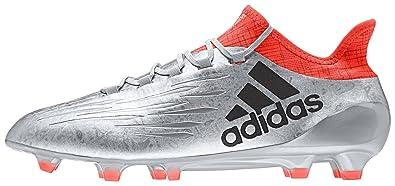 002556769ba929 Amazon.com | adidas X 16.1 FG Football Boots - Adult - Silver Met ...