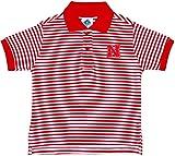 University of Nebraska Striped Polo Shirt by