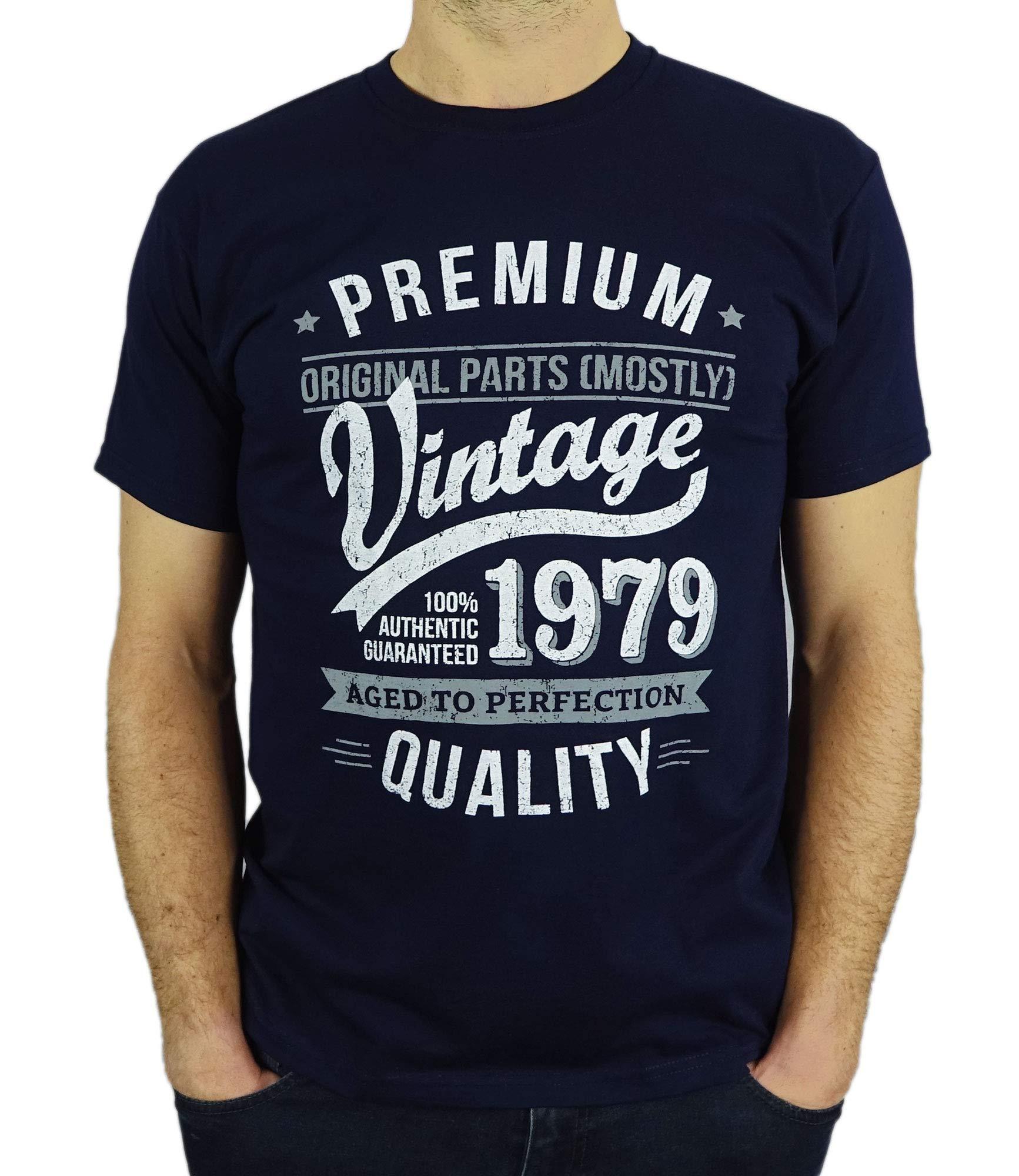 e8e67c516c7c 1979 Vintage Year - Aged To Perfection - Regalo di Compleanno Per 40 Anni  Maglietta da