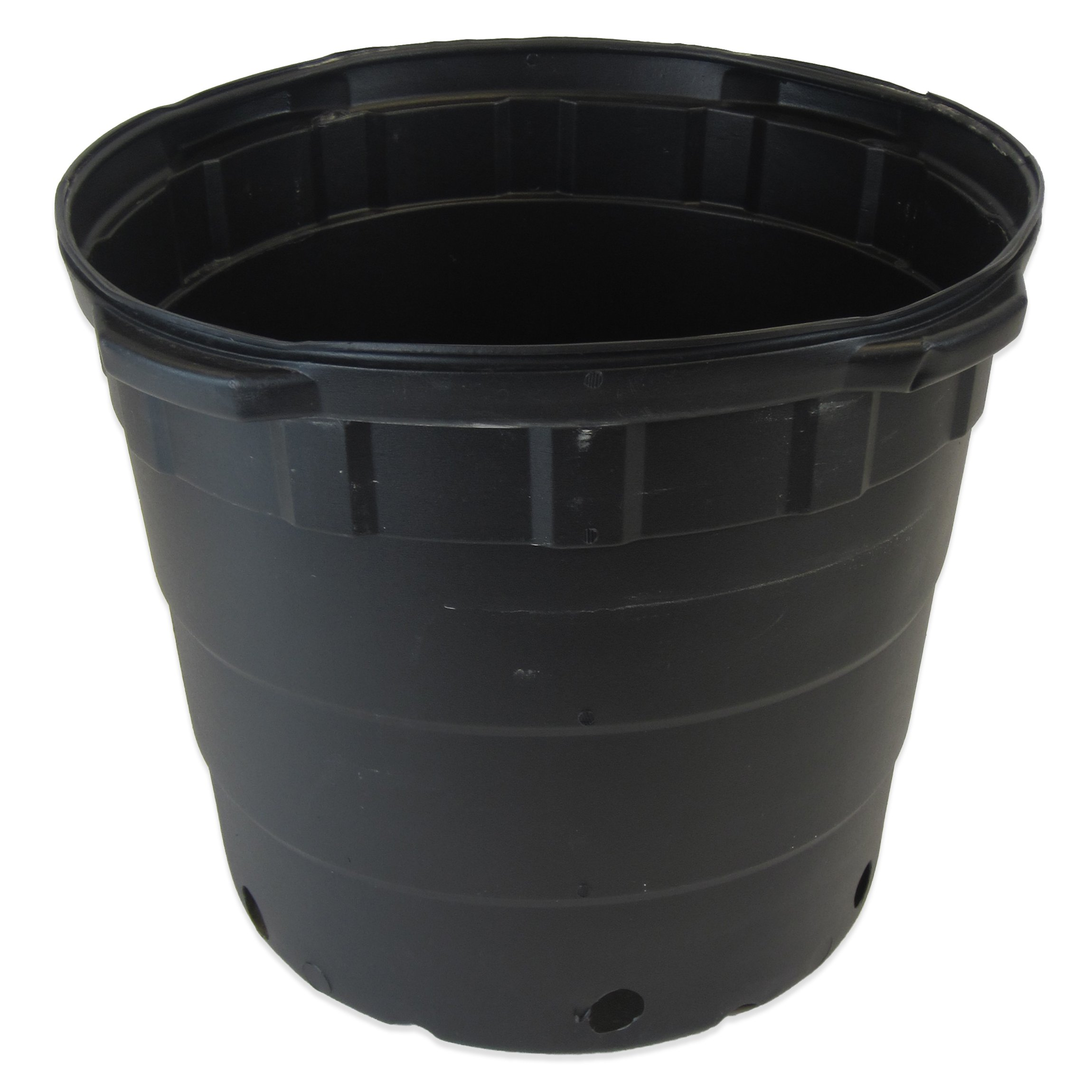 Viagrow 10 Gallon Round Nursery Pots - 20 Pack