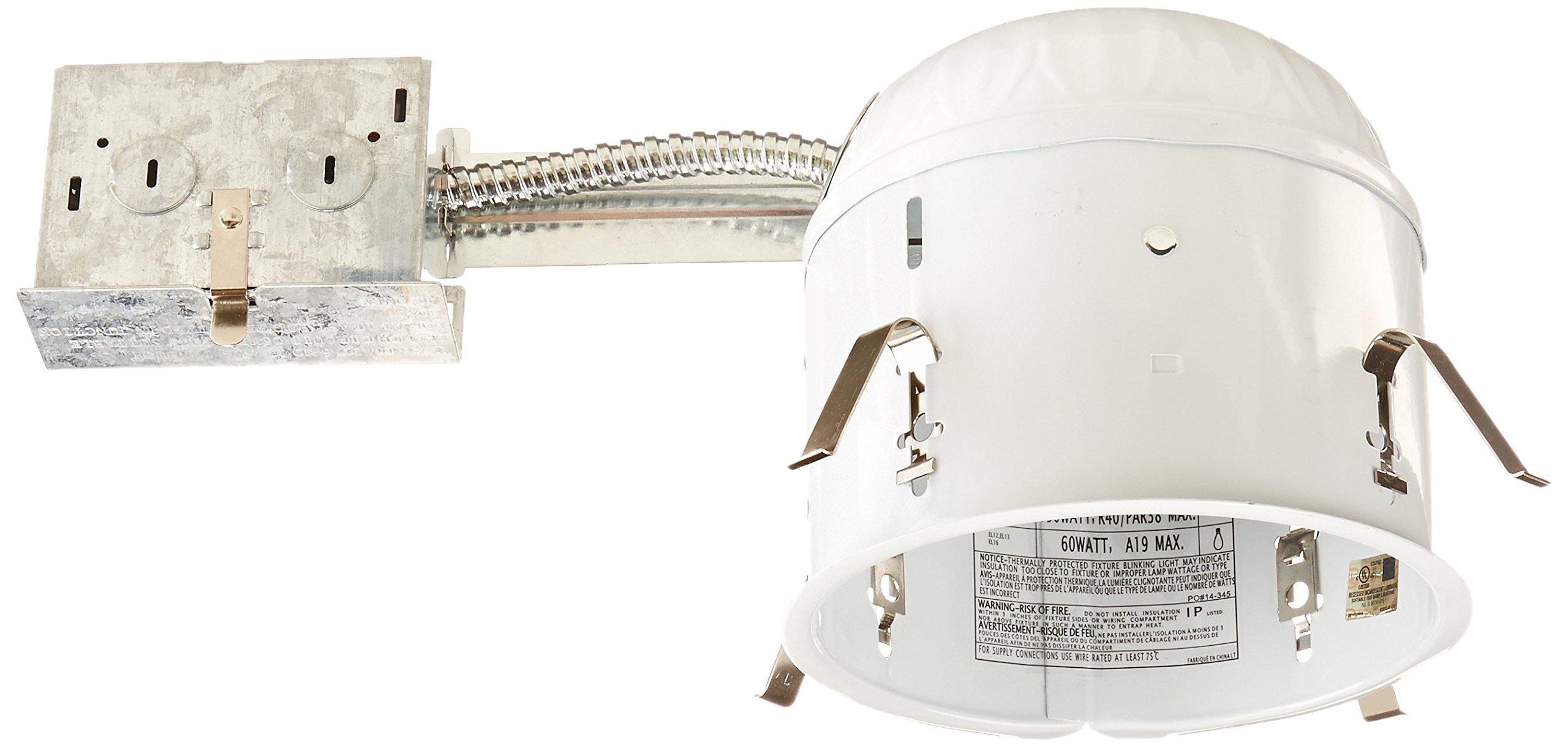 Elco Lighting RR9H 6'' Shallow Remodel Housing