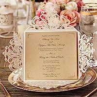 Wishmade Kits de tarjetas de Invitaciones de boda